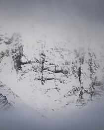 Wall of the Aiguilles dArves - Valloire french alps  OC