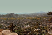 Walled City of Kaesong North Korea once the former capital of Korea during the Goryeo dynasty