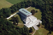 Wallhalla in Donaustauf  hall of fame that honours people artists scientists etc in German history built in   neo-classicism