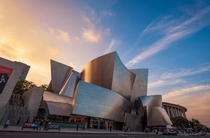 Walt Disney Concert Hall - by Frank Gehry
