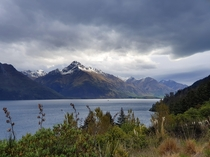 Walter Peak and Lake Wakatipu Queenstown New Zealand  x