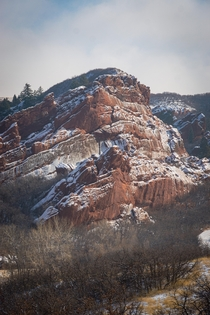 Wandering another planet or its just Roxborough Park Colorado  x