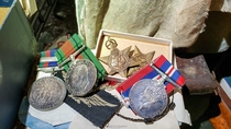 War Medals and Nazi Souvenirs I found in an Abandoned House OC x