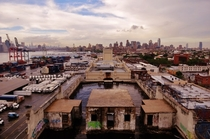 Warehouses in Red Hook Brooklyn NYC