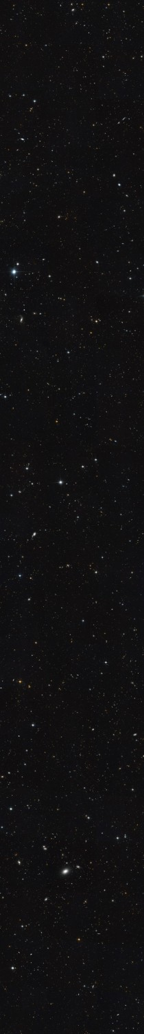 WARNING EXTREMELY LARGE IMAGE - Extended Groth Strip image taken via Hubble of a small region in the constellation Ursa Major