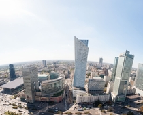 Warsaw - Panorama from Palace of Culture and Science