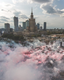 Warsaw Poland Independence Day  November