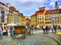 Warsaw Poland Really loved the old town square what is your favorite European capital