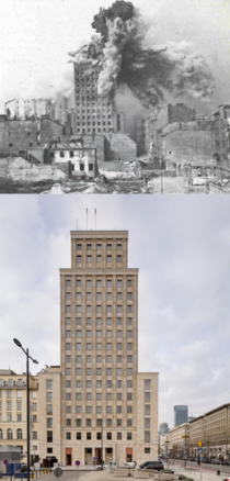 Warsaw Prudential building  vs