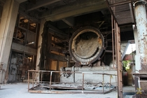 Was exploring an abandoned cement factory Found tons of asbestos rusted machinery and a huge abandoned area