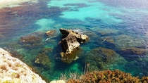 Was exploring the Egadi islands Sicily and I just had to show everyone how clear and beautiful the water is   x