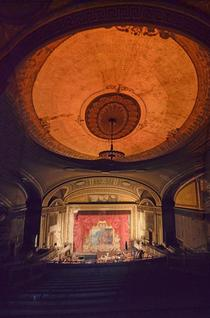 Was in the Majestic Theater today in Bridgeport CT