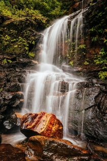 Was worth carrying all my camera gear down the Valley of the Waters hike in Sydneys Blue Mountains