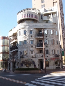 Waseda El Dorado  also known as Rhythms of Vision a Gaud-inspired apartment building in Tokyo