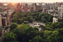 Washington Square Park - Greenwich Village New York NY