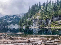 Washingtons Cascades never cease to amaze Alpine Lakes Wilderness  IGhikedailyprn
