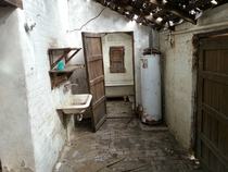 Washroom with a starry roof in Roma TX