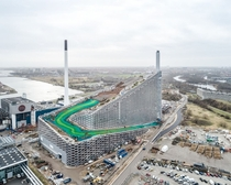 Waste incinerator with its own ski slope - Copenhagen Denmark