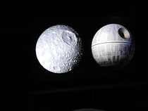 Watching Death Dive To Saturn on Netflix - the geek in me cant help but think how awesome it is that Saturns moon Mimas resembles the Death Star