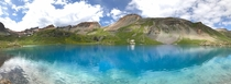 Water so blue youd think its been edited Ice Lake Basin Silverton CO