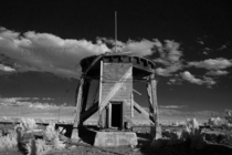 Water Tower for Steam Locomotives Hwy  Northern Nevada
