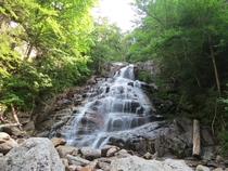 Waterfall I came across while hiking up Mt Lincoln New Hampshire