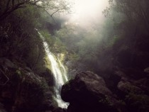 Waterfall in Big Sur California Taken with my iPhone