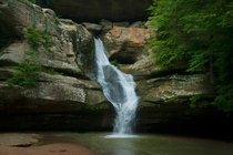 Waterfall in Hocking Hills State Park OH