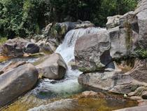 Waterfall in Khamkueth district Bolikhamxay Laos  x