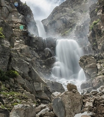 Waterfall in Spiti Valley - x