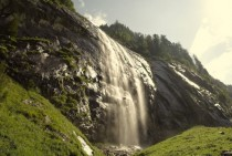 Waterfall in Stillup Valley Austria