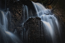 Waterfall in Styggdalen Trondheim Norway