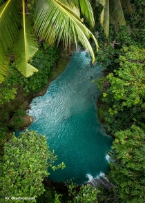 Waterfall oasis in Cebu Philippines  bradscanvas