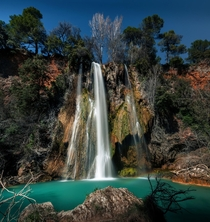 Waterfall of Sillans Provence France