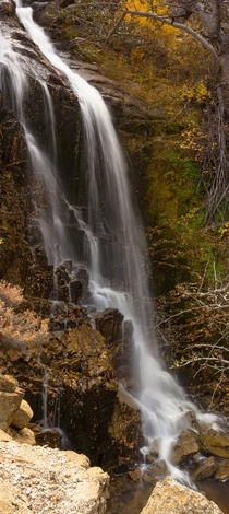 Waterfall Panorama - Washoe Valley Nevada