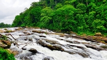 Waterfalls in Kerala India