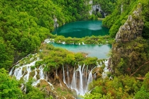 Waterfalls in Plitvice National Park Croatia by Fesus Robert