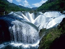 Waterfalls of Jiuzhaigou Valley China x