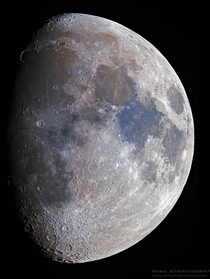 Waxing Gibbous Moon  Illumination