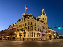 Wayne County Government Building Wooster Ohio USA