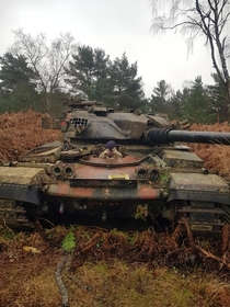 We found an old Chieftain Longmoor UK