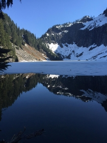 We hiked up to Lake Serene WA two months ago