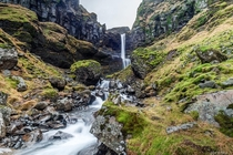 We stumbled upon this waterfall accidentally on our trip in Iceland -