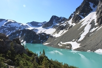 Wedgemount Lake British Columbia