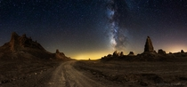 Welcome to Mars an impressive milky way panorama by Michael Shainblum
