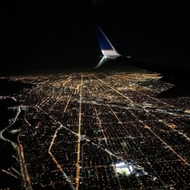Welcome to the grid Cant beat Chicago at night