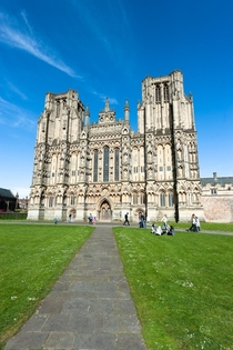 Wells Cathedral Somerset Built