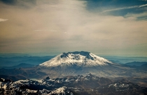 Went flying with my uncle today Mount St Helens WA