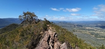 Went for a hike and experienced a breathtaking view at Cathedral Range State Park Aus