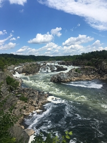 Went for a walk today with my girlfriend at Great Falls VA
